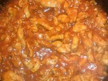 Pomidorowa potrawka z kurczaka z kukurydzą