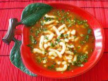 Pomidorowa z bazylią i curry :