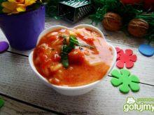 Pomidorowa z bazylia i ziołami