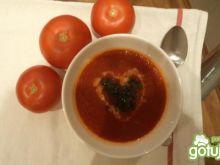 Pomidorowa z mleczkiem kokosowym