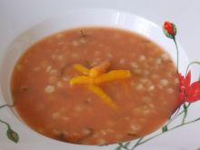 Pomidorowa z młodą marchewką
