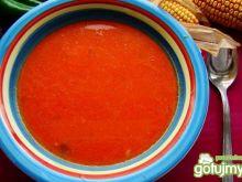 Pomidorowa z pieczona czerwoną papryką