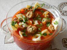 Pomidorowa z pulpetami inaczej :