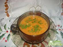 Pomidorowa z ryżem na rosole