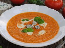 Pomidorowa z serem pleśniowym