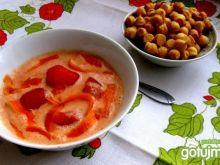 Pomidorowa z serkiem  topionym