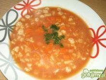 Pomidorowa z soku z gwiazdkami