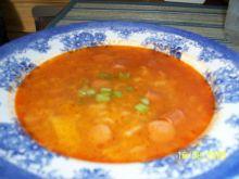 Pomidorowa z wedlina.