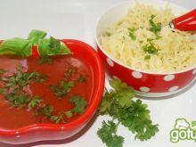 Pomidorowa ze smażonego koncentratu