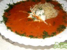 Pomidorowa zmiksowana z włoszczyzną
