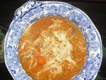 Pomidorowa zupa z soku pomidorowego