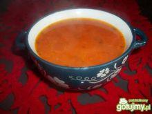 Pomidorówka z ryżem.