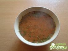 Pomidorówka z ryżem