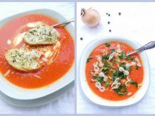 Pomidorowo - cebulowa zupa krem