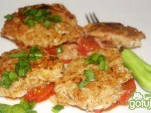 Pomidorowo-makaronowe placuszki