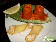 Pomidorowo - marchewkowe galaciki
