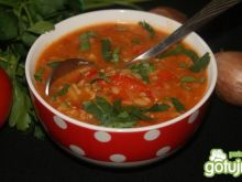 Pomidorowo-paprykowa na gęsto