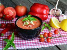 Pomidorowo – paprykowy chłodnik z nutką ostrości