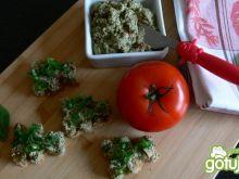 Pomidorowo- szpinakowa pasta z tofu