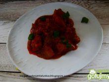 Pomidorowy gulasz z karkówki