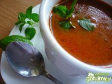 Pomidorowy krem z winem