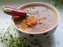 Pomidorowy krupnik ( z pęczaku)