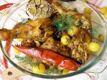 Pomidorowy kurczak na ostro