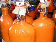 Pomidorowy sok na zimę z szybkowara