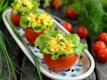 Pomidory faszerowane jajecznicą