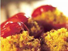 Pomidory faszerowane kaszką kuskus
