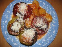 Pomidory i papryczki nadziewane