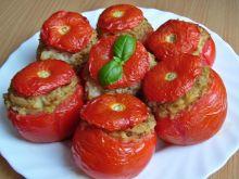 Pomidory nadziewane ryżem z kapustą