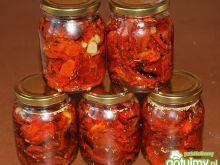 Pomidory suszone w oliwie ziołowej