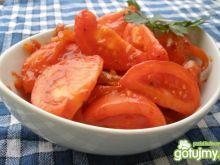 Pomidory w sosie miodowym