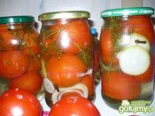 Pomidory w zalewie wg Marta1986