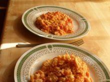 Pomidory z jajkiem.