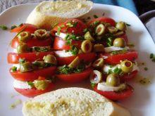 Pomidory z mozzarellą.
