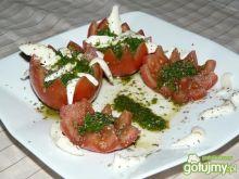 Pomidory z rukolą