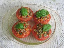 Pomidory zapiekane z bazylią i parmezanem