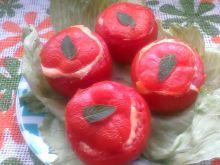 Pomidory zapiekane z makaronem