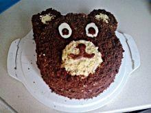 Pomysłowy tort Miś