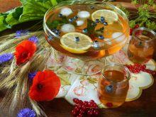 Poncz herbaciany z owocami