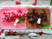 Porzeczkowo- czekoladowe lody