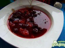 Postana zupa wiśniowa