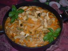 Potrawka a'la stroganoff z boczniakami