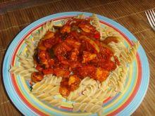 Potrawka chińska w sosie słodko-kwaśnym