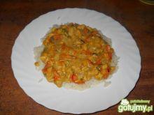 Potrawka chińska z ryżem