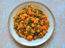 Potrawka dyniowa z fasolką i ryżem
