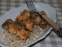 Potrawka mięsna z pieczarkami