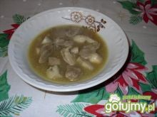 Potrawka mięsno - pieczarkowa